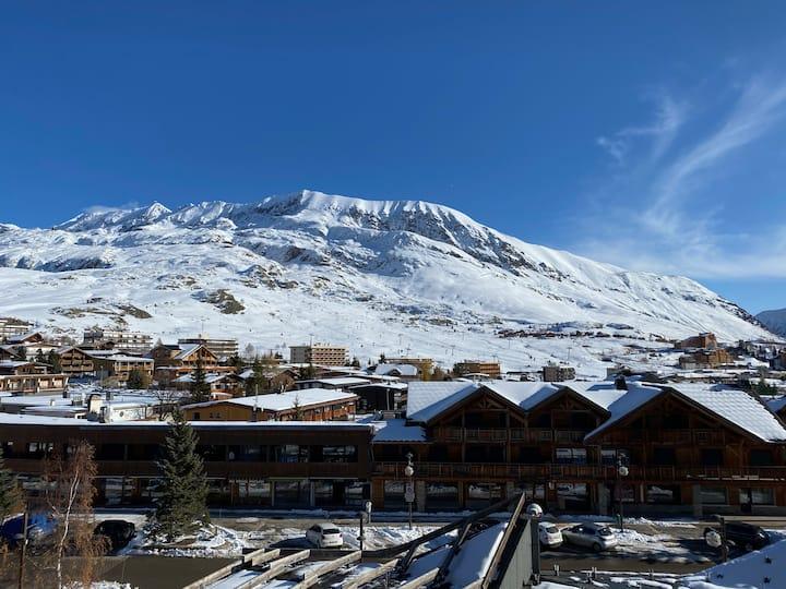 Alpe D'Huez  4/5 Pers Résidence Ours Blanc