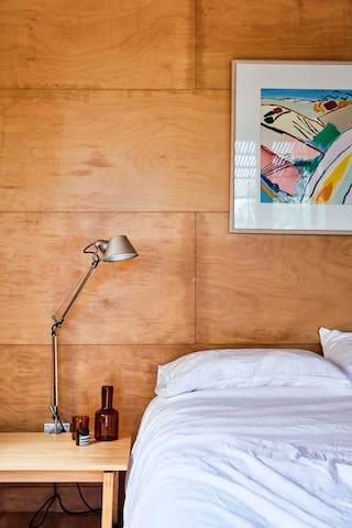 Middle floor - master bedroom (Aesop accessories not included)