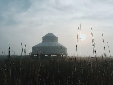Northern Yurt Experience @TheBuffaloFarm Suite