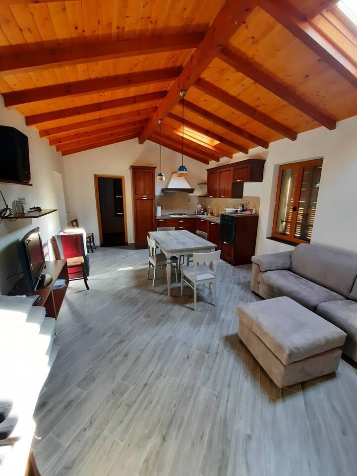 Casa al Fiume, fantastic rustic in nature