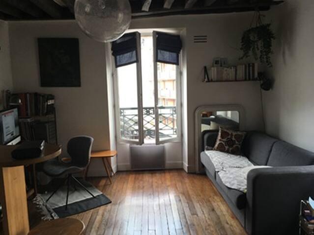 Appartement près du Canal Saint Martin