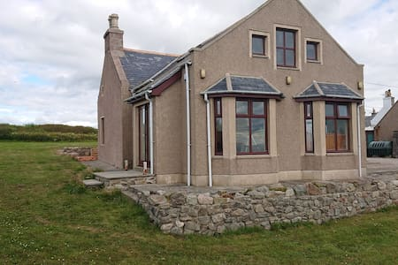 Whinnyfold home, 2 double bedrooms and balcony