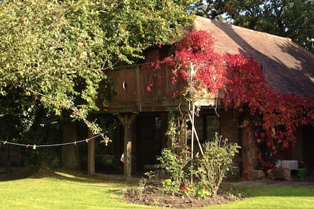 Treetops -  romantic studio apartment/treehouse - Herstmonceux - Apartmen
