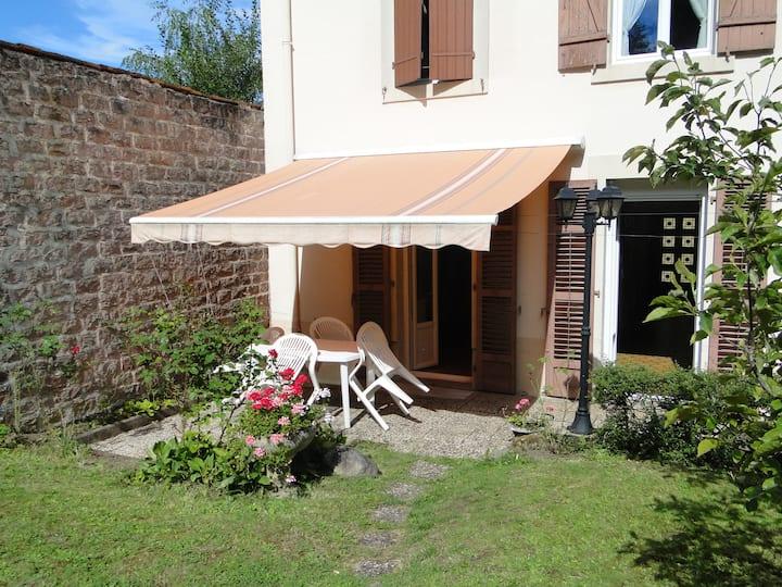 Belle maison ind. avec jardin clos  - 1 chambre