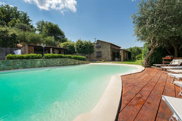 Villa with private pool in Cilento