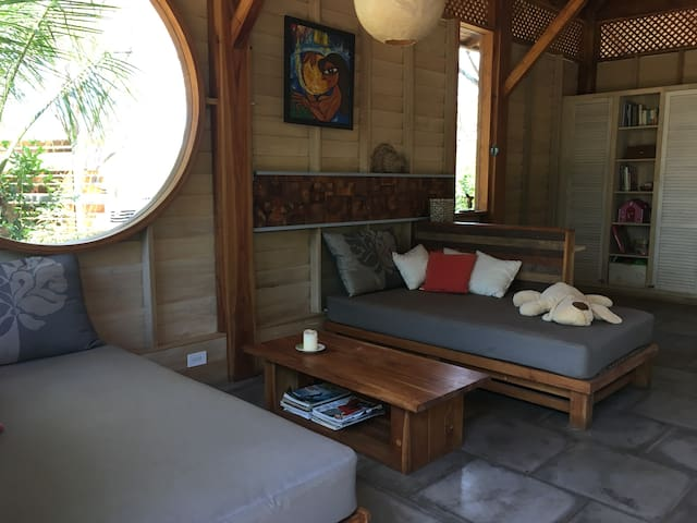 Authentic wooden beach house to relax - Playa Avellana - Casa