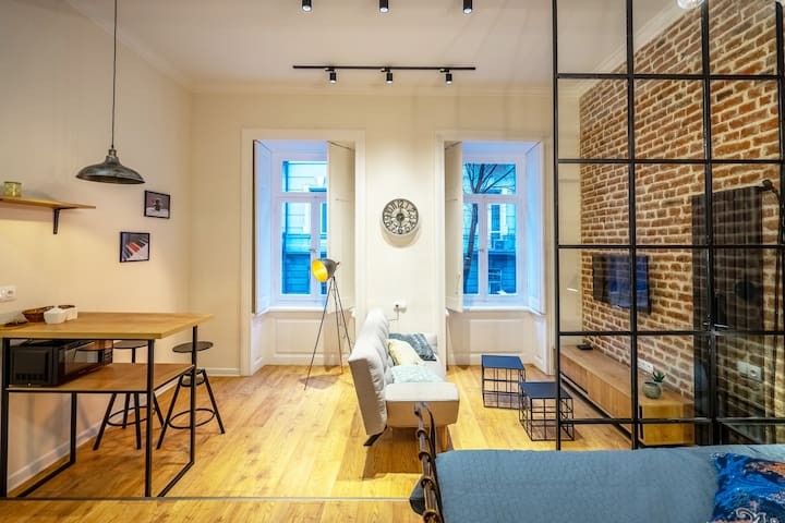 Charming Studio in the heart of the City