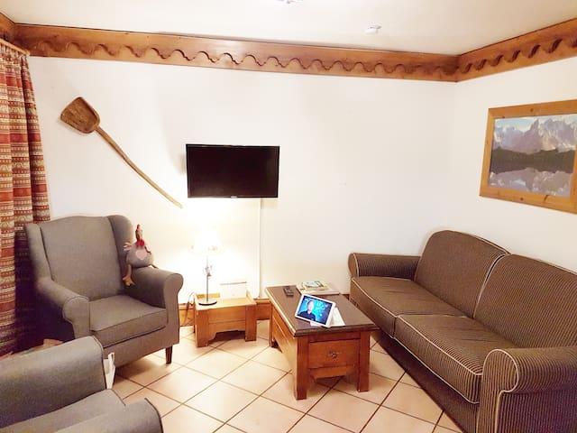 "Two-bedroom apt at ""La Ginabelle"", Chamonix"