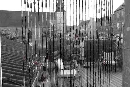 Chambre RDC sur jardin centre bourg - Corseul - 住宿加早餐