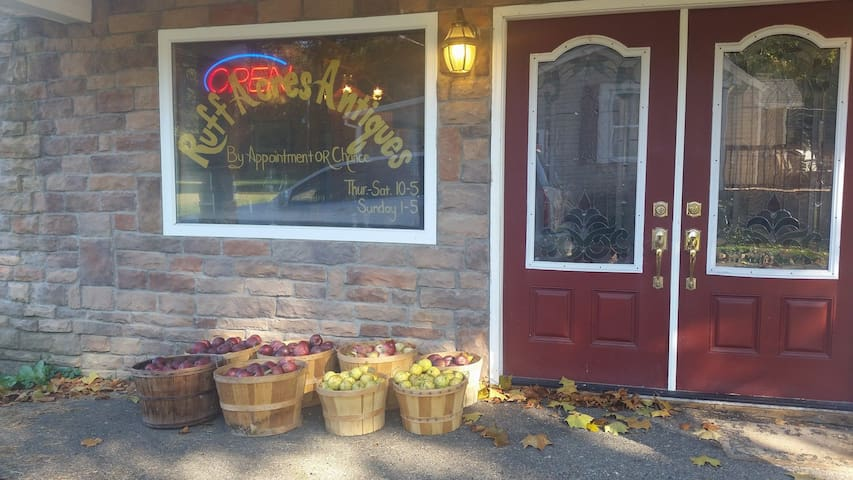 Apples/Antique Store