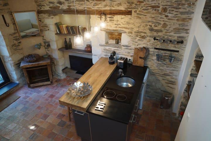 Dépendance de charme XVe siècle - Angers - Casa