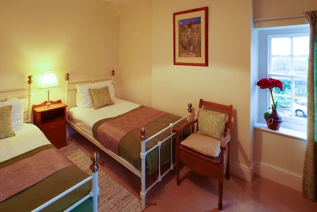 Bedroom 3 is a twin room ideal for 1 or 2 persons sharing