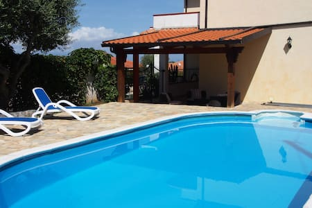 Villa with private pool & sea view  - Zambrone  - Willa