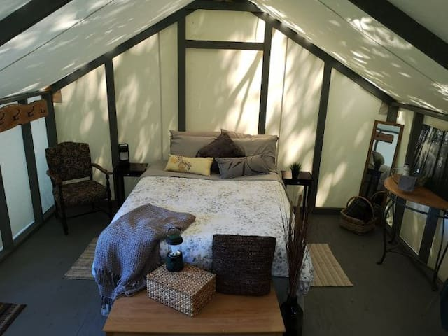 Wellspring Wall Tent Retreat  - Forest Room (#3)