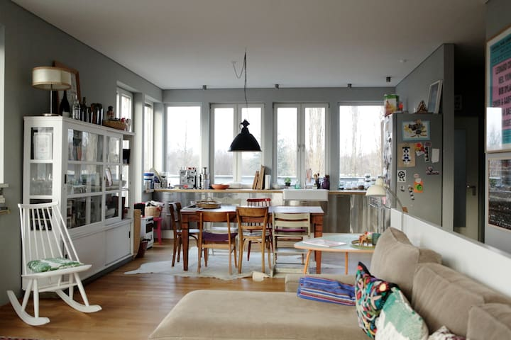 Sunny Family Duplex-Apartment - Berlin - Wohnung