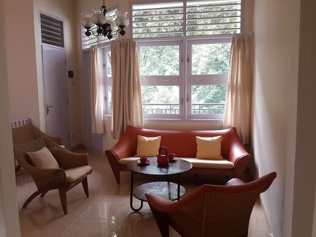 Green and Spacious 1BR apartement
