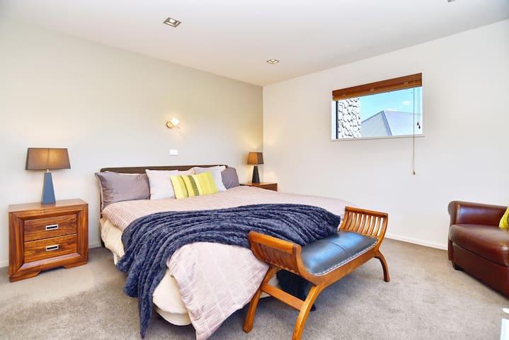 Bedroom 3 has a Super king bed with an En suite