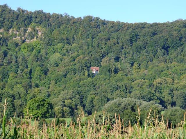 Rote Villa in Thüringen