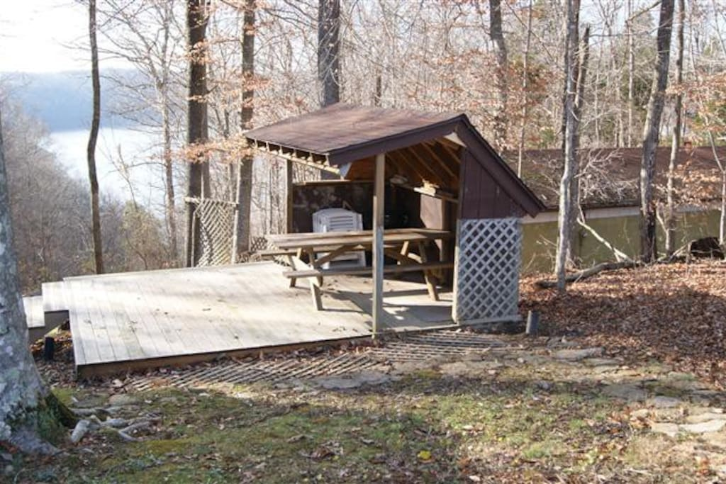 Cabin Overlooking Lake Cumberland Cottages For Rent In