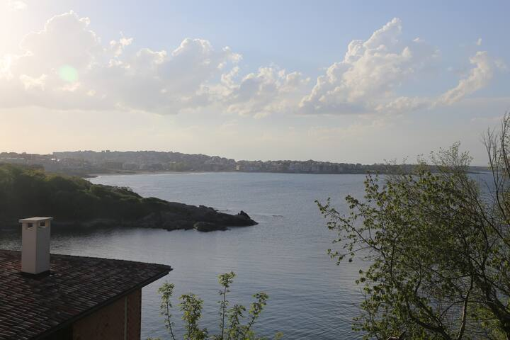 1 BR sea view penthouse - Sozopol - Lejlighed