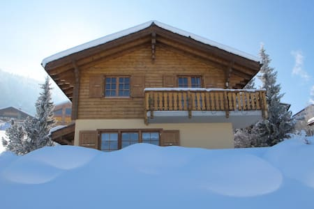 Calm, centrally located cozy chalet - Haute-Nendaz