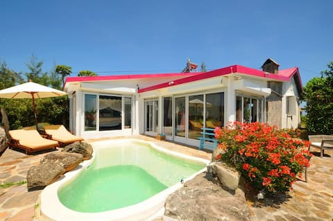 Lorizon, Rodrigues, Villa and priv. Pool, seaview
