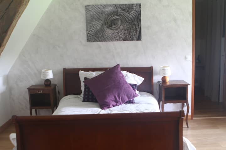 Purple Room - BnB de l'étang