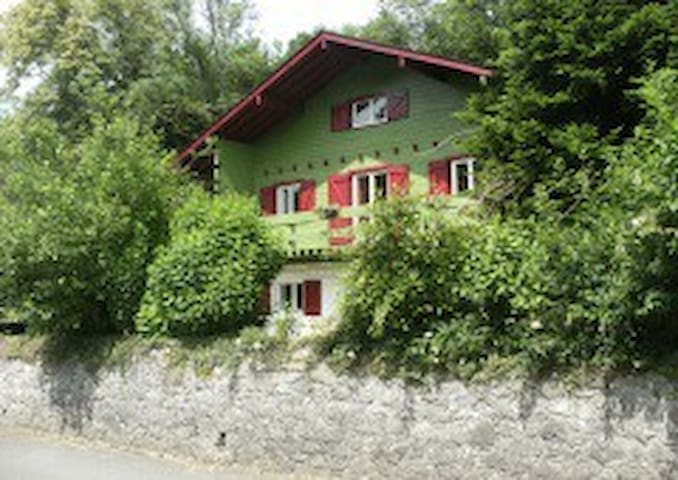 Chambre d'hôtes Chalet Green Bike Pyrénées