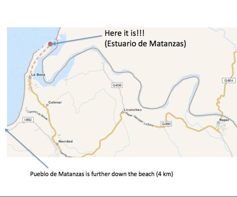 Exact location