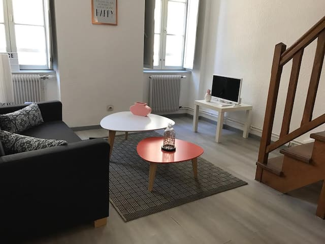 Appartement indépendant avec Internet.