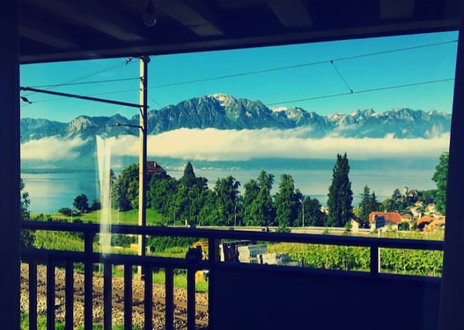 Beautiful Duplex - Montreux - Montreux - Casa