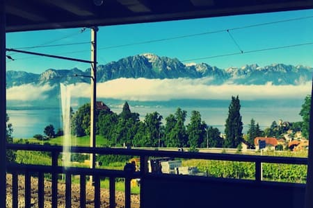 Beautiful Duplex near Montreux - Montreux