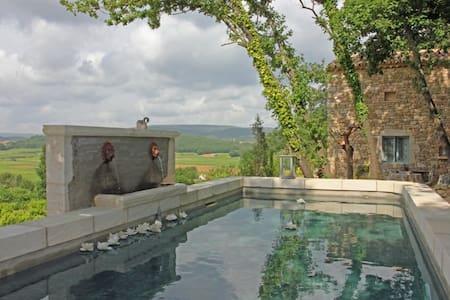 Le Mazet D'Élodie - Cornillon - บ้าน