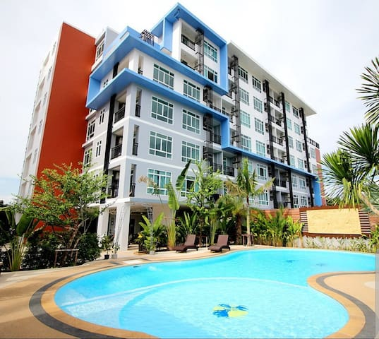 Apartment with pool in Chalong PHUKET