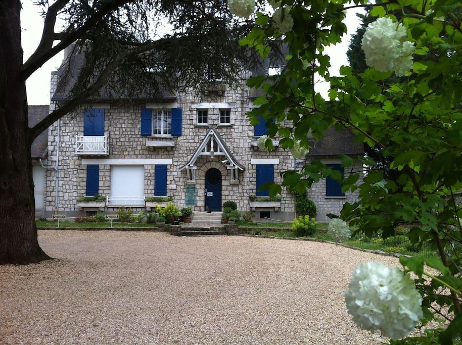 Maison de fontainebleau maisons louer fontainebleau for Maison d en france ile de france