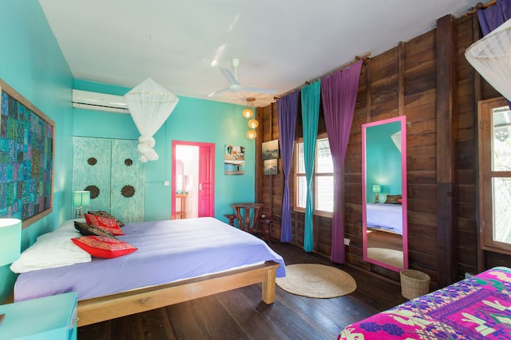 Indian room Mediterranean and Asian home feeling - Siem Reap, Cambodia - Dom
