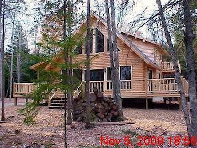 Secluded Log Home - Frenchman's Bay - Lamoine - Chalet