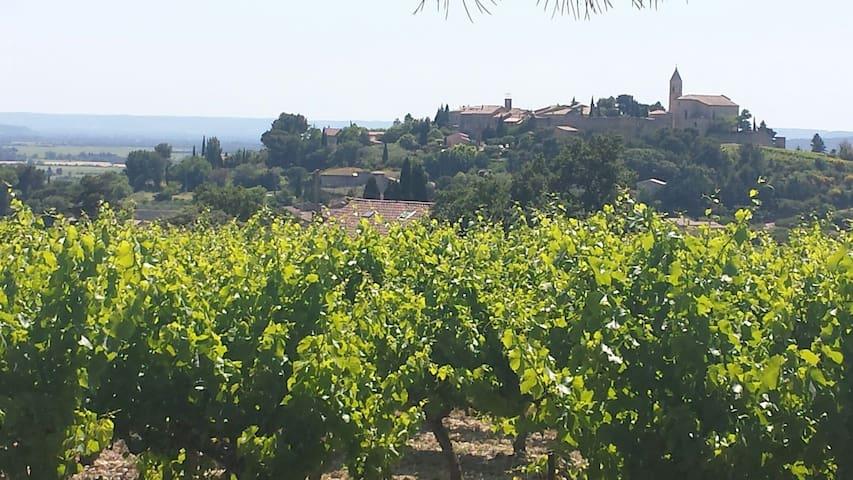 Vieille ferme au milieu des vignes - Cairanne - Σπίτι