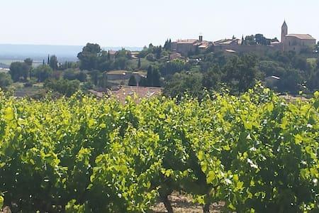 Vieille ferme au milieu des vignes - Cairanne