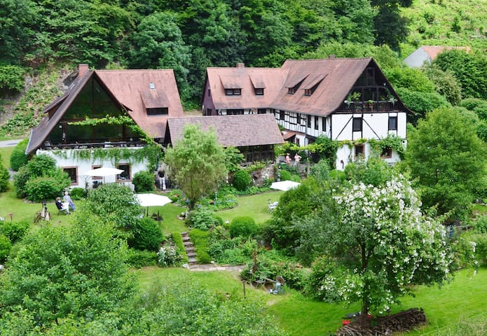 Historische Mühle bei Heidelberg - Weinheim
