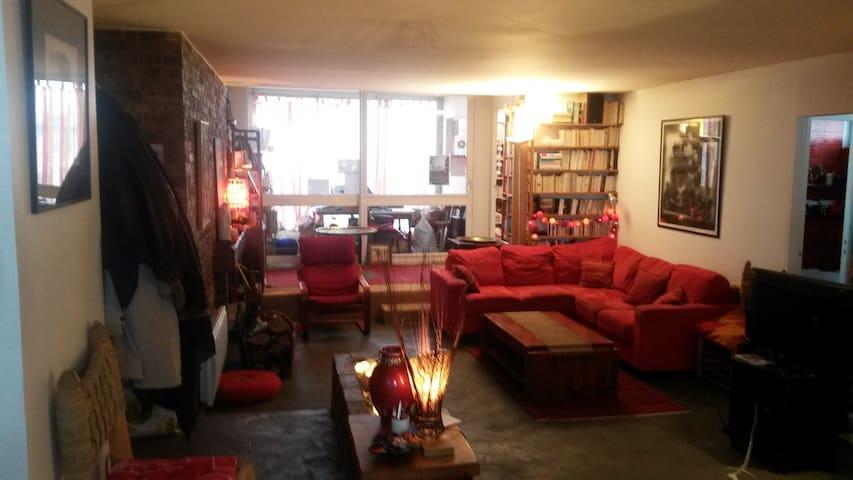Warmy flat 3 bdr nearby ParisCenter - Ivry-sur-Seine - Daire