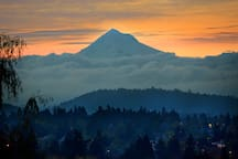 Mt. Hood on a different morning.