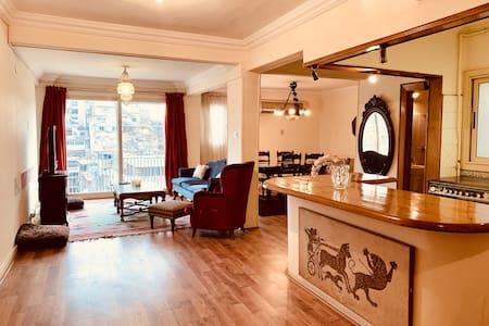 Belle Epoque Zamalek Apartment (2 Bedrooms)