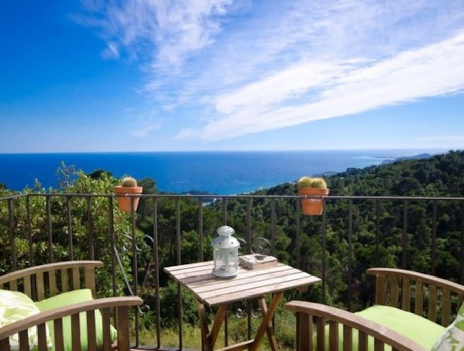 Vistas al Mar Mediterraneo
