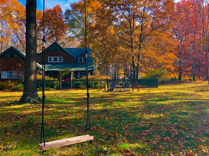 Beautiful Private Studio near Gunks & New Paltz
