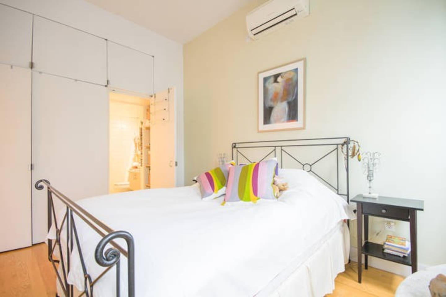 Private bedroom with lots of light, and ensuite bathroom  Private bedroom with lots of light