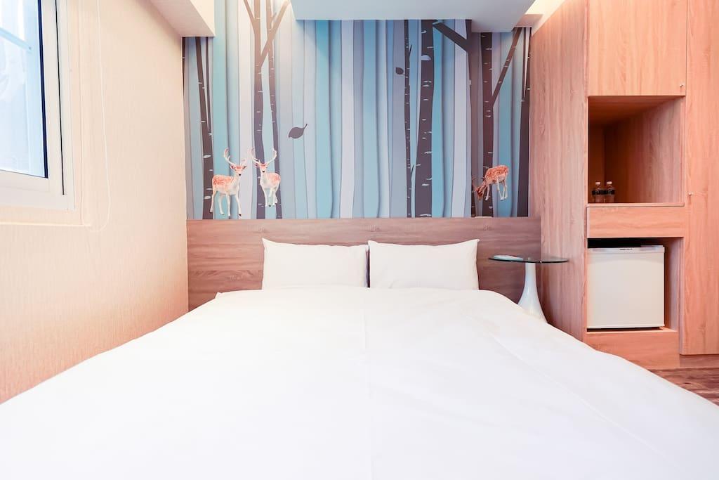 雙人房(不指定房型) Double room (No restrict type)