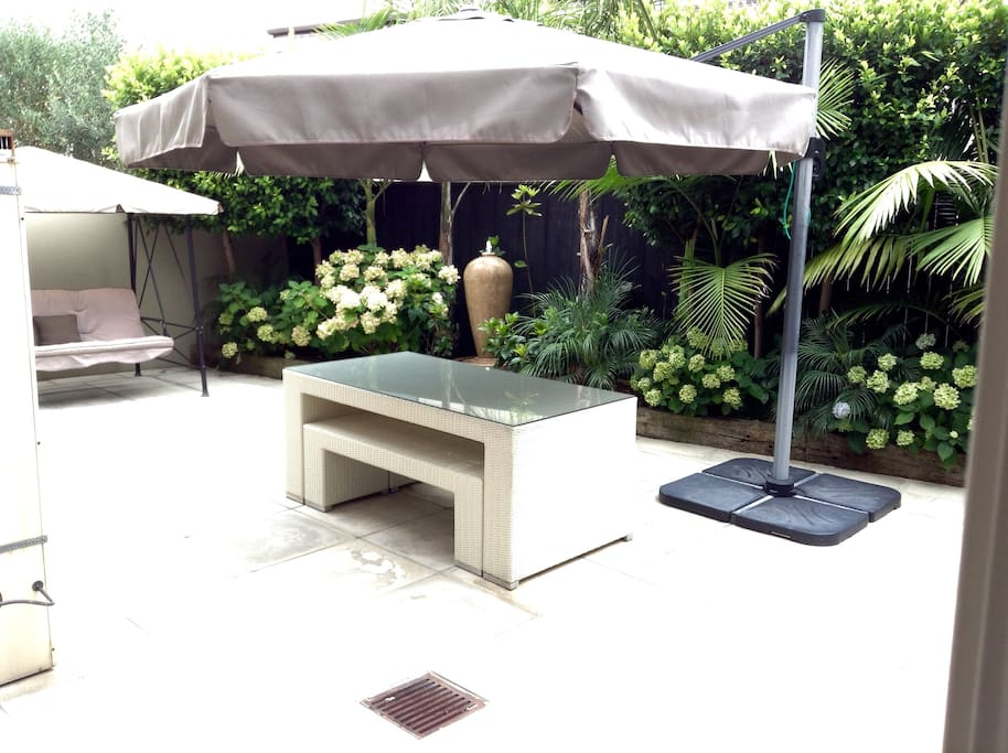 Enjoy private outdoor space