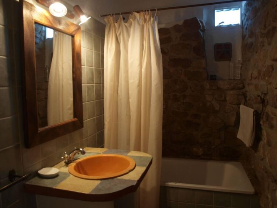 Baño de la habitación Espiral