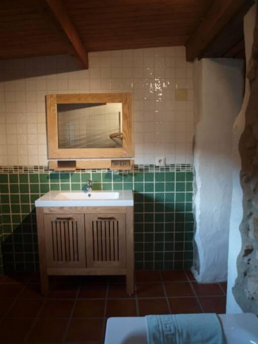 Baño de la habitación Sol y Luna